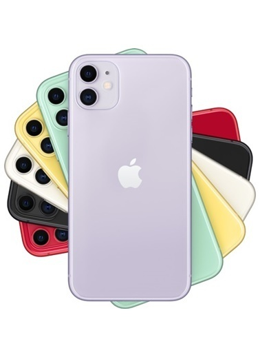 Apple Apple Iphone 11 Purple 64Gb-Tur Mwlx2Tu/A Renkli
